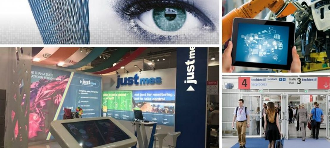 Industry 4.0 and Digital Innovation with Just MES at Techtextil 2017!