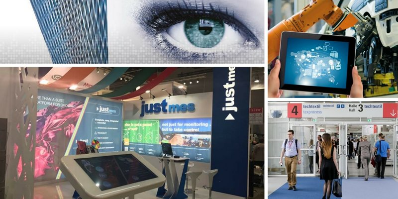 Industry 4.0 ed Innovazione Digitale con Just MES a Techtextil 2017